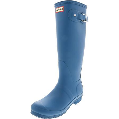 Hunter Women's Original Tall Ocean Knee-High Rubber Rain Boot - 10M