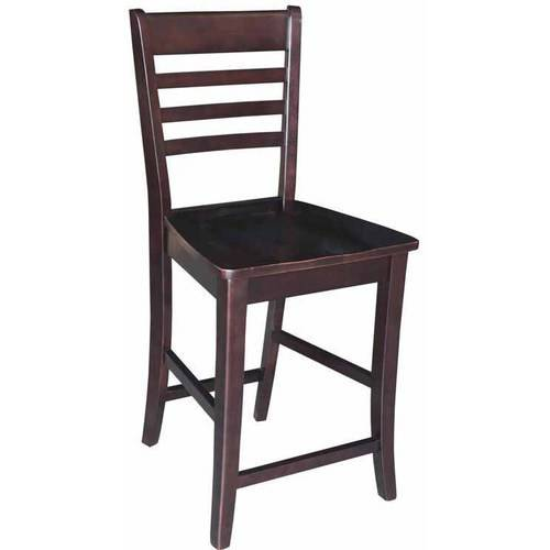 """Roma Counter-Height Stool, 24"""", Multiple Finishes"""