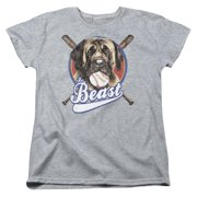 Sandlot The Beast Womens Short Sleeve Shirt