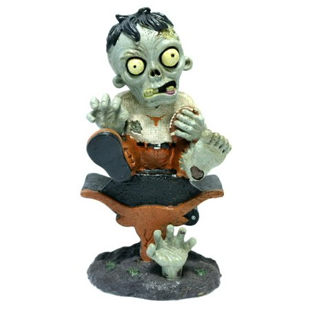 Texas Longhorns Zombie Figurine On Logo with - Football Zombie