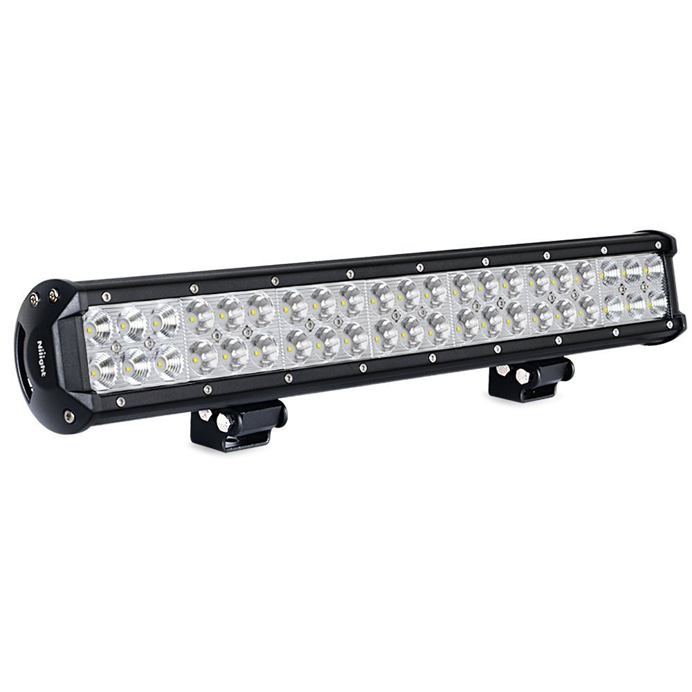 Led light bar nilight 20 inch 126w led work light spot flood combo led light bar nilight 20 inch 126w led work light spot flood combo led bar off road lights driving lights led fog light jeep lights boat lighting 2 years mozeypictures
