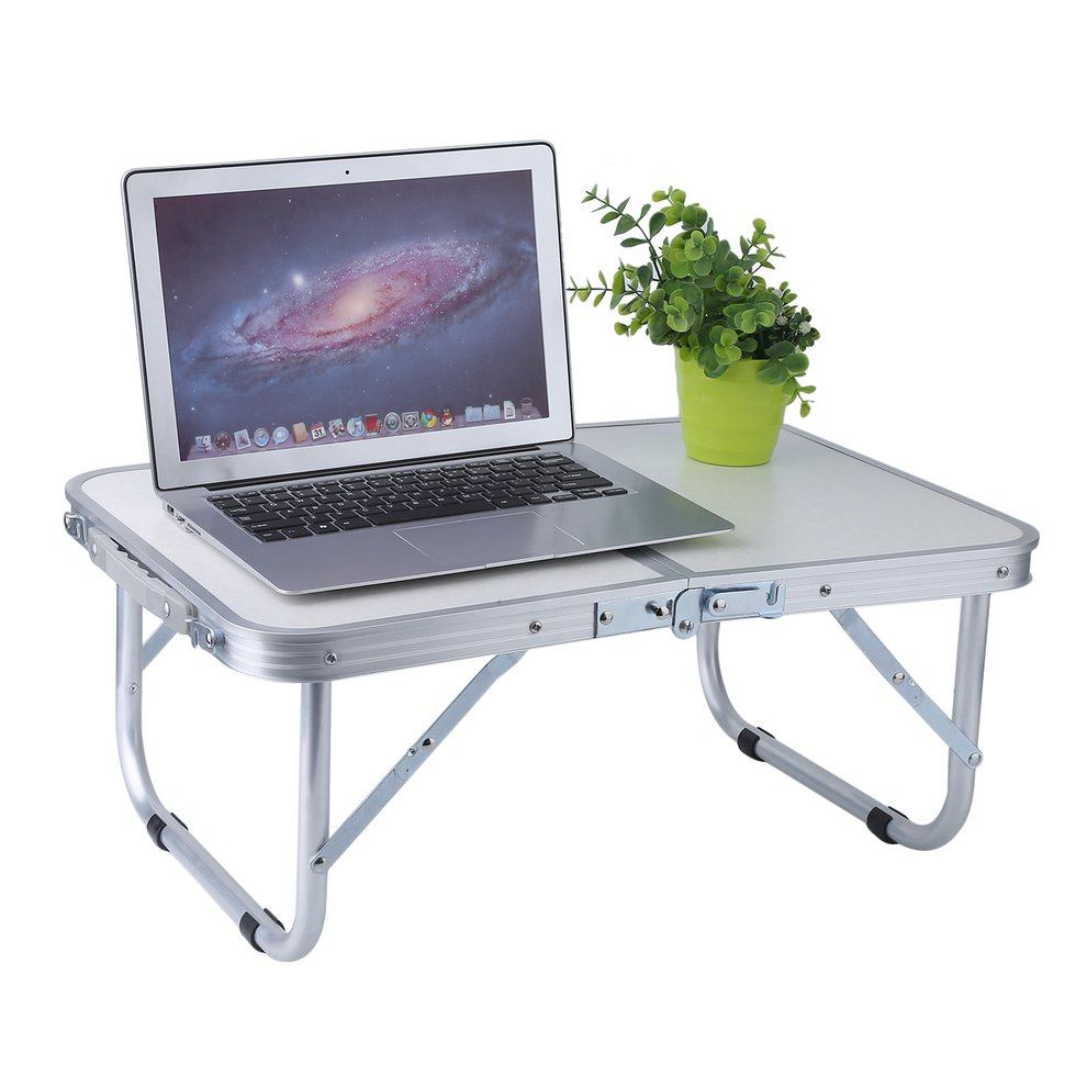 2FT Portable Folding Table Indoor/Outdoor Picnic Party Dining Camping Desk  Ultralight Multifunctional Laptop Desk