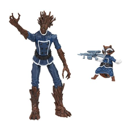 Marvel Legends Series Groot & Rocket Raccoon Comic 2-Pack