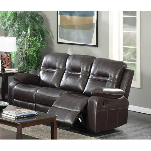 Brassex Napolean Recliner Reclining Sofa by