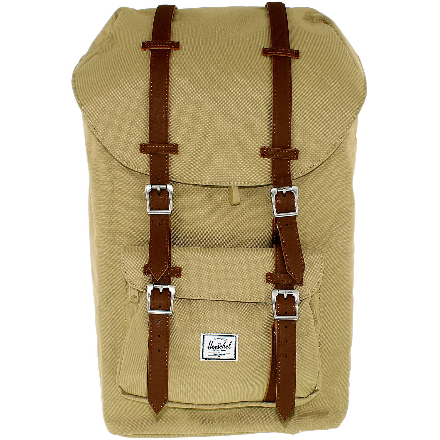 Buy Herschel Supply Co Little America Laptop Backpack - Khaki ... db003d81ef92b