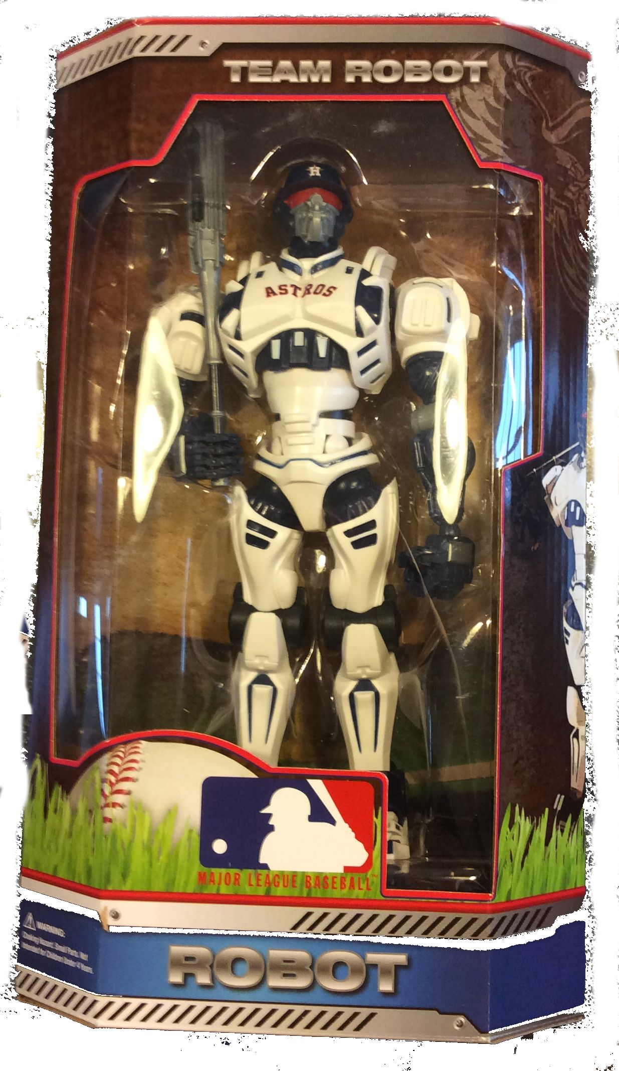 Fox Sports Cleatus Robot MLB Choose Your Team 10 Inch by Foamhead