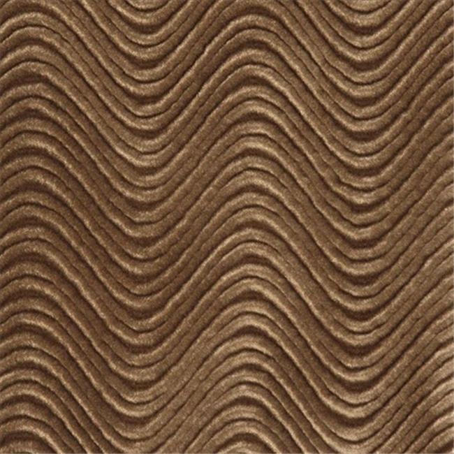 Designer Fabrics C841 54 in. Wide Brown, Classic Velvet Swirl Automotive, Residential And Commercial Upholstery Velvet