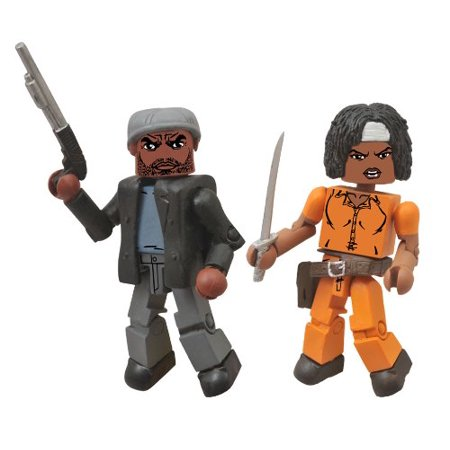 Toys The Walking Dead: Minimates Series 5: Michonne and Tyreese Two-Pack Action Figure, A Diamond Select Toys release By Diamond Select Ship from - April Ship