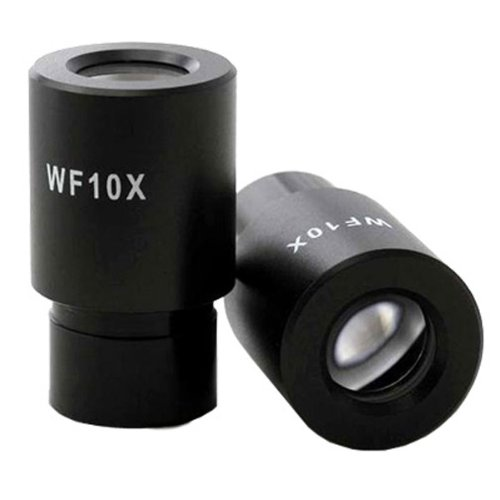 AmScope EP10X23 Pair of WF10X Microscope Eyepieces (23mm)