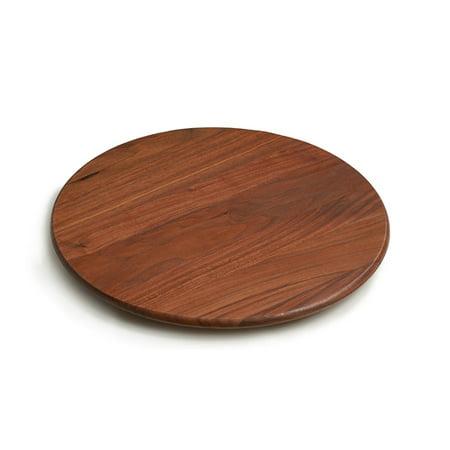 JK Adams Walnut Wood 14 Inch Round Lazy Susan ()