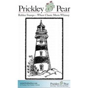 "Prickley Pear Cling Stamps 2.25""X1.5""-Lighthouse"