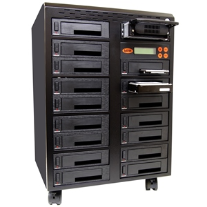SySTOR 1:16 SATA/IDE Combo Hard Disk Drive (HDD/SSD) Duplicator/Sanitizer (SYS4011HS)