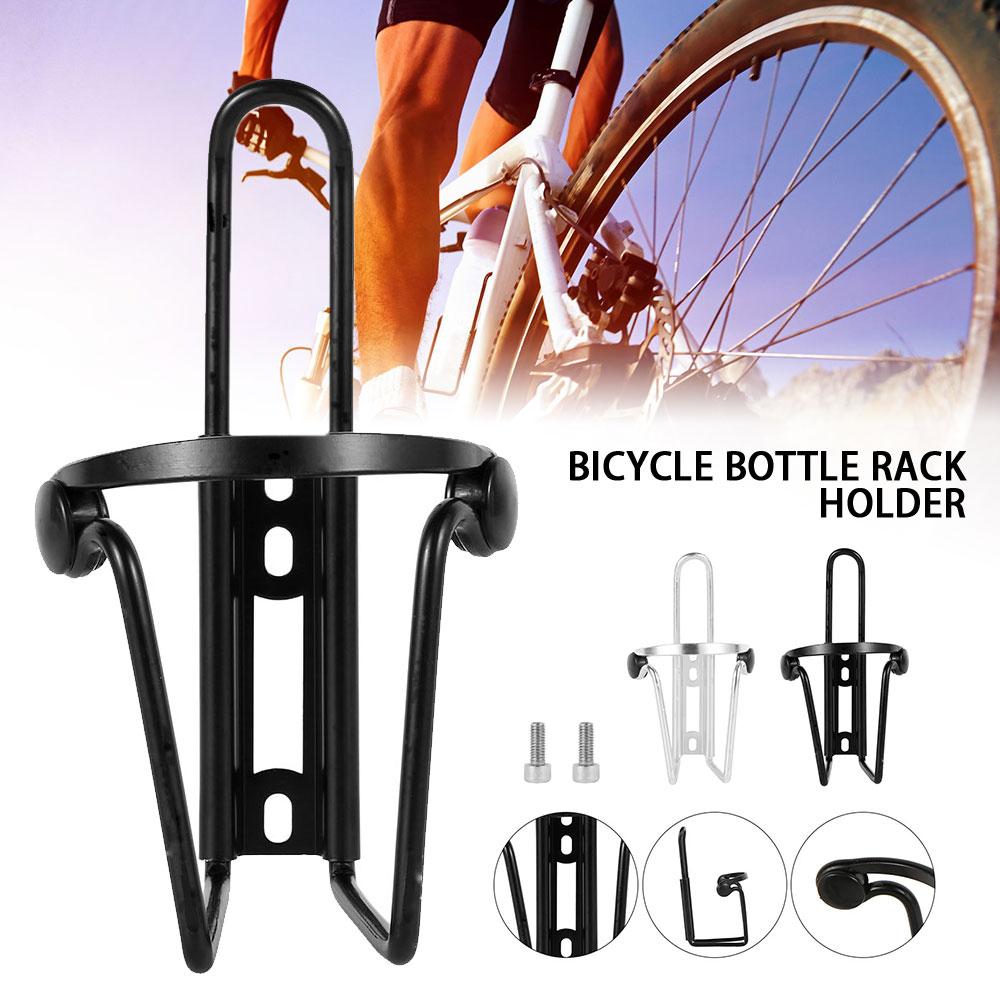 Alloy Bike Double Water Bottle Mount Rack Bicycle Drink Bottles Holder Cage