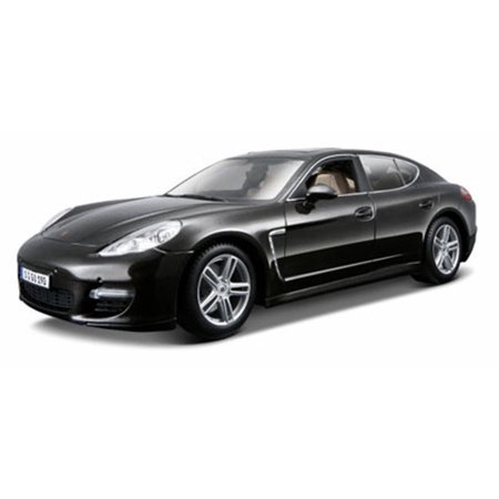 Porsche 996 Turbo (Porsche Panamera Turbo w/ Sunroof, Dark Gray - Maisto 36197GY - 1/18 Scale Diecast Model Toy)