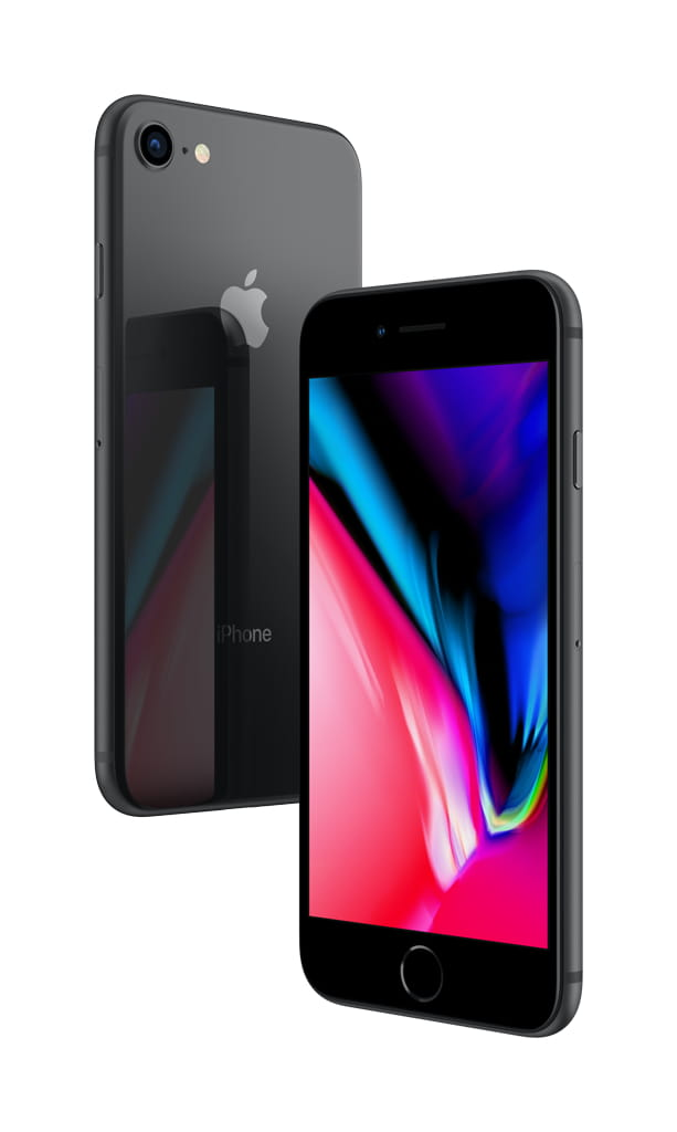 Straight Talk Apple iPhone 8 Plus with 64GB Prepaid, Space Gray