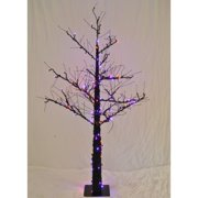 Christmas at Winterland WL-DTR-4.5-LPU/OR 4.5 Foot Pre-Lit Halloween Tree with P