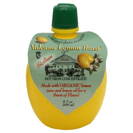 Dream Foods International Volcano Burst Organic Lemon Juice, 6.7 Fl Oz, 1 Count