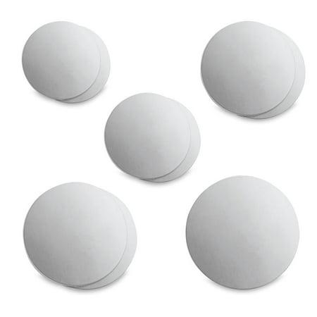 ImpressArt Stamping Blanks - Circle Blanks Variety Assortment, Aluminum, Pkg of