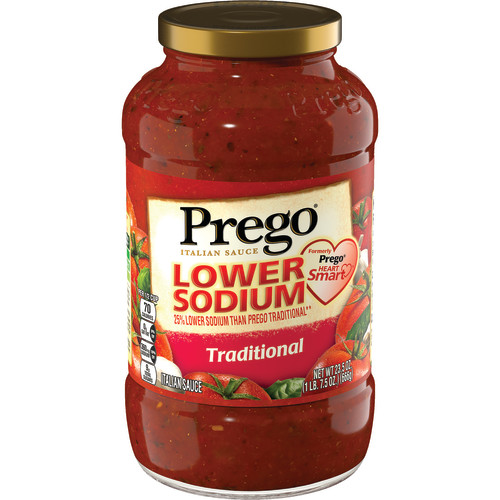 Prego Heart Smart Traditional Italian Sauce, 23.5 oz.