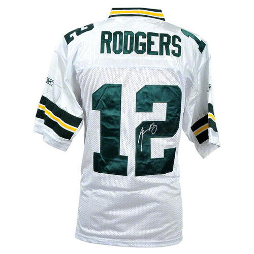 Details: Green Bay Packers, Reebok, White, with SB XLV Patch