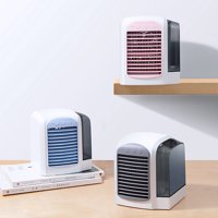 Bluelans Portable Mini Air Conditioner USB Mute Office Home Cooling Fan Cooler Humidifier