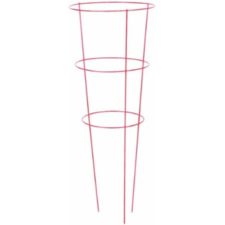Panacea 83812 42 x 14 in. Promotional Tomato Cage with 3 Ring & Leg, Green - Pack of 25