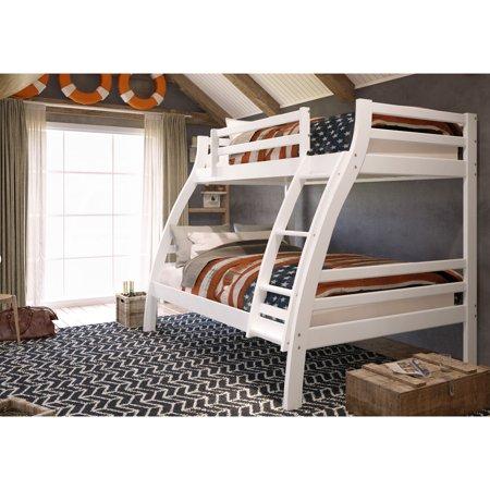 Woodcrest Pine Ridge Twin Over Full S Bunk Bed Walmart Com