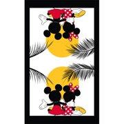 Disney Kitchen Towel Single Mickey Minnie Sunset, Multi (Kitchen Towel Only)