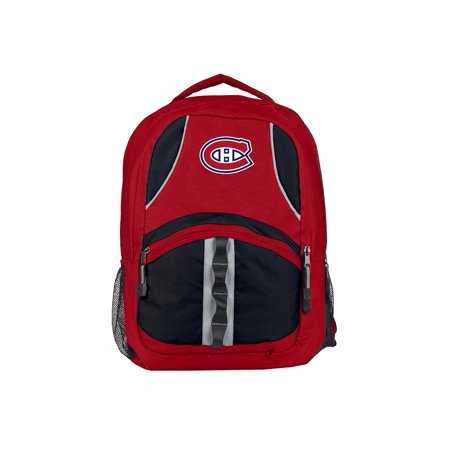 """NHL Montreal Canadiens """"Captain"""" 18.5""""H x 8""""L x 13""""W Backpack"""