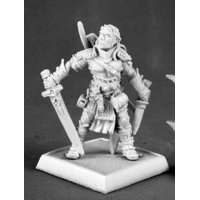 Reaper Valeros, Male Iconic Fighter V2 #60035 Pathfinder Miniatures Unpainted