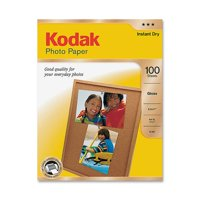 Kodak 8.5 x 11 Photo Paper  Gloss - 100 Sheets/Pack