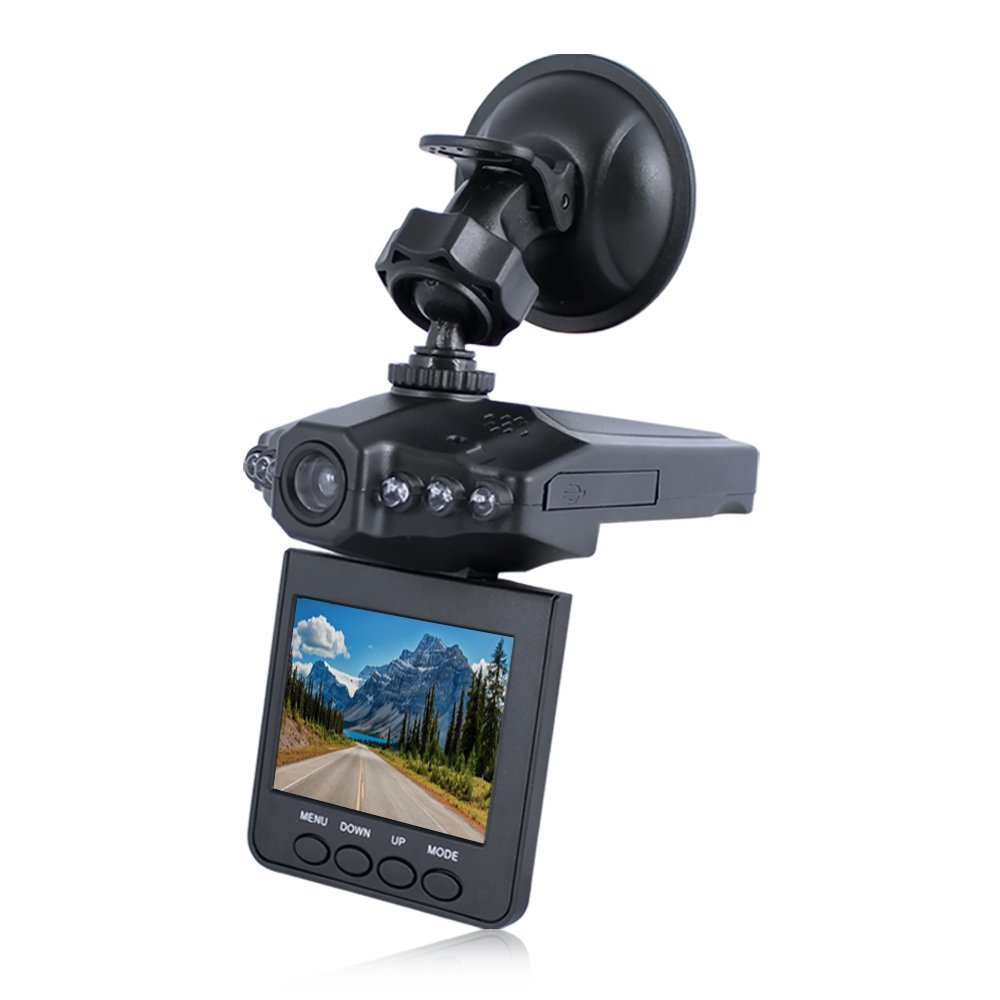 "Auto Vehicle 1280x960 Night Vision Dashcam 2.4"" LCD Display HD Video Recorder"