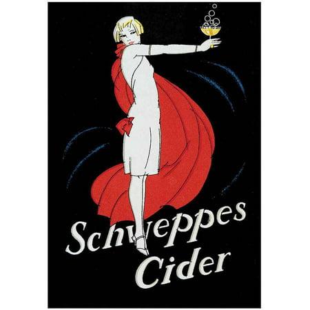 Schweppes Cider Vintage Advertising Art Print