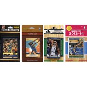CandICollectables TWOLVES4TS NBA Minnesota Timberwolves 4 Different Licensed Trading Card Team Sets