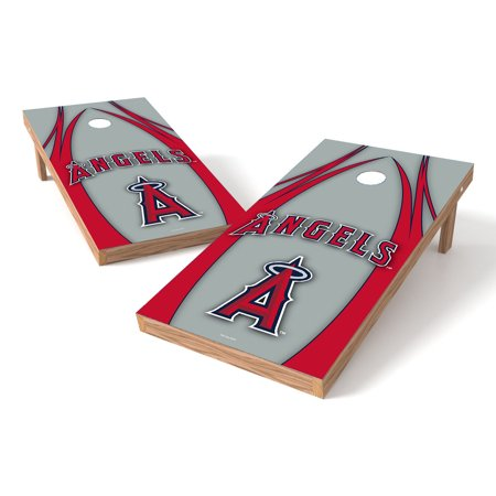 TTXL Shield V Logo MLB Los Angeles Angels of Anaheim Bean Bag Toss Game