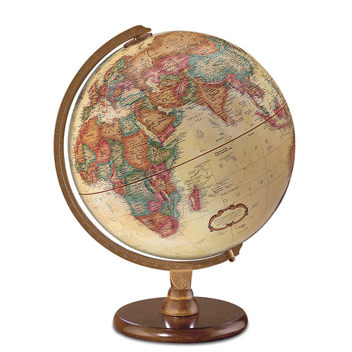 Replogle Globes Hastings 12'' Antique French or English World Globe