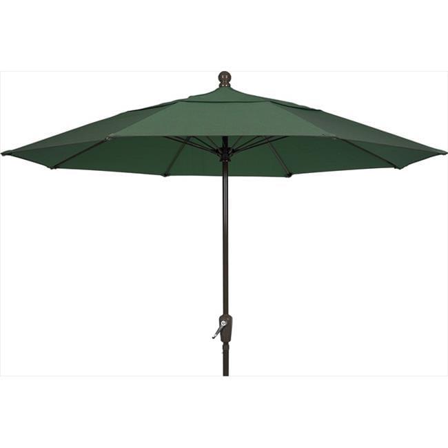 Fiberbuilt Home 9Hcrcb-T-Fg Patio Umbrella 9 Ft - Forest Green
