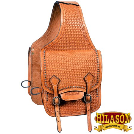 Tucker Trail Saddles - Cbh113 Hilason Western Leather Cowboy Trail Ride Horse Saddle Bag