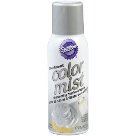 Wilton Silver Color Mist Shimmering Food Color Spray, 1.5 (Best Color For Food)