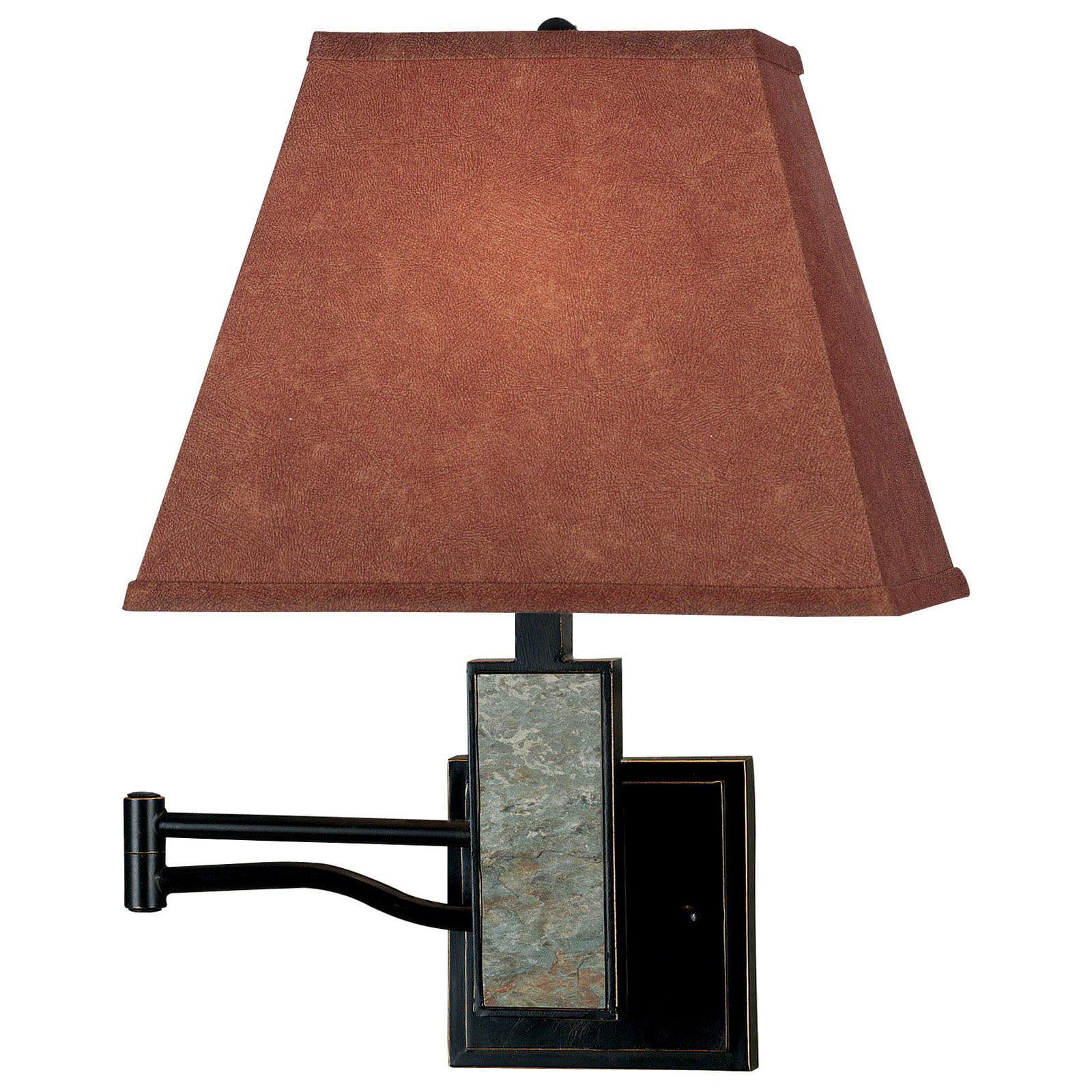 Kenroy Home Dakota Wall Swing Arm Lamp 20H in. Oil Rubbed Bronze by Kenroy Home