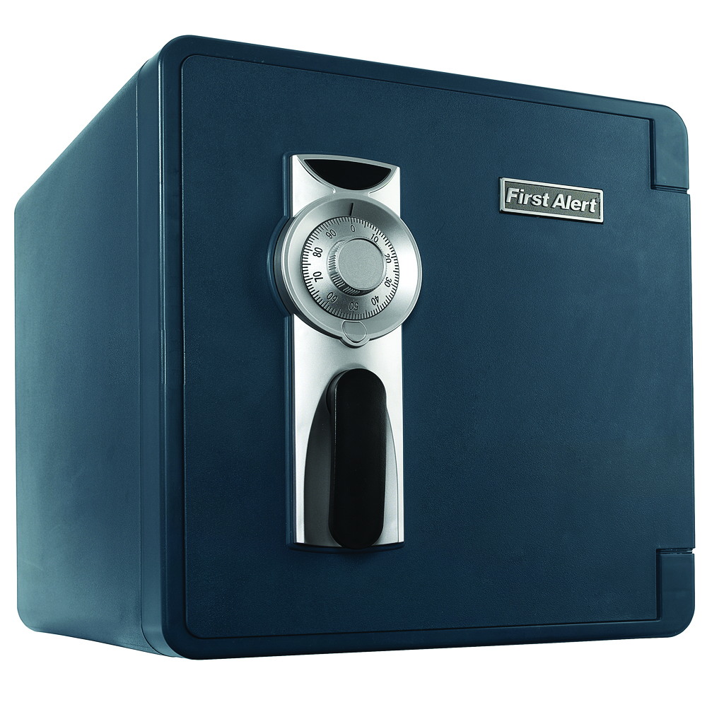 First Alert 2092F Waterproof and Fire-Resistant Combination Safe, 1.3 Cubic Feet by First Alert