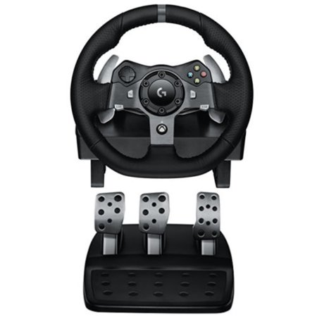 Logitech Driving Force G920 Racing Wheel, Force Feedback Steering Wheel (Refurbished) Logitech Driving Force Gt Wheel
