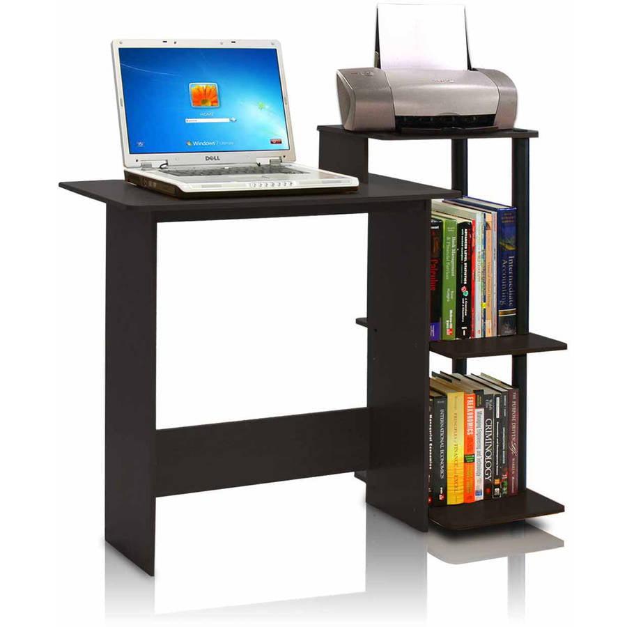 morgan computer desk with hutch, espresso - walmart