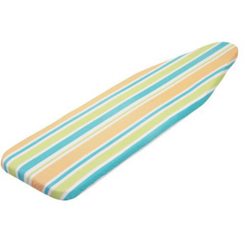 "Honey Can Do 54"" Reversible Ironing Board Cover with Pad, Multicolor"