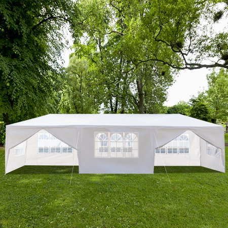 - Ktaxon 10' X 30' Canopy Tent with 8 Side Walls for Party Wedding Camping and BBQ