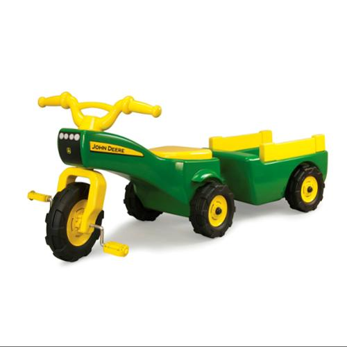 John Deere Pedal Tractor and Trailer by TOMY