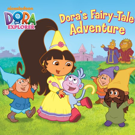 - Dora's Fairytale Adventure (Dora the Explorer) - eBook