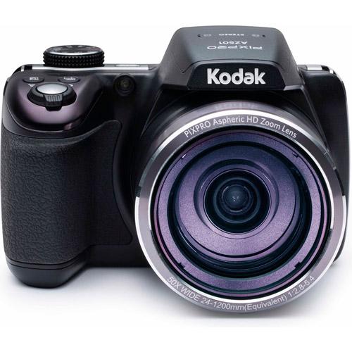 Kodak Black PIXPRO Astro Zoom AZ501 Digital Camera with 16.15 Megapixels and 50x Optical Zoom by Kodak