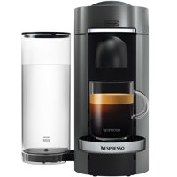 Nespresso by De'Longhi VertuoPlus Deluxe Coffee & Espresso Single-Serve Machine in Titanium