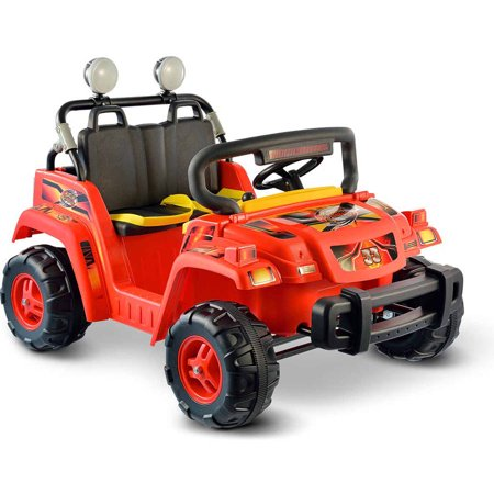 Kid Motorz Rollin' Rambler 12V Battery-Operated Ride-On, Red